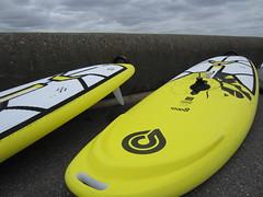 Brand new windsurfing equipment at Poole Windsurfing School