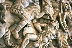 Dallas Museum of Art (DMA) (KellieCA) Tags: sculpture art museum originalart sarcophagus artmuseum romanempire dma antiquities dallastexas dallasmuseumart classicalfigure carvedmarble marblerelief
