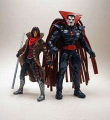 Gambit and Mister Sinister (Corey's Toybox) Tags: toy actionfigure figure marvel gambit hasbro marveluniverse mistersinister