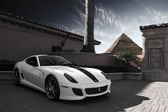 Arab Money GTO. (AESDUB) Tags: money egypt ferrari arab gto 599