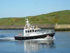 Pilot boat entering Aberdeen Harbour (iainh124a) Tags: uk lumix scotland panasonic aberdeen tz7 dmczs3 iainh124a dmctz7 zs3
