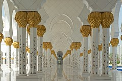 Sheikh Zayed Grand Mosque, Abu Dhabi (benmfulton) Tags: nikon dubai uae mosque abudhabi nationalgeographic d800 nikkor2470f28 sheikhzayedgrandmosque