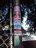 Wuss Pole (Question Josh? - SB/DSK) Tags: streetart sticker stickerart stickers tags josh question aloha questionjosh ceito