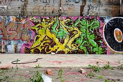 AURA (STILSAYN) Tags: california graffiti oakland bay area aura 2012