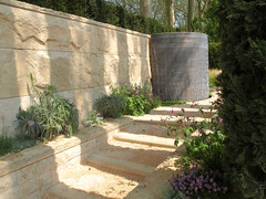 Water Cascade inspired by the Fontana dell'ovato at the Villa d'Este (mittu12) Tags: show uk flower garden chelsea medal peoples research choice arthritis category gilt rhs the 2012 gardensilver winnerwinner 2012rhs
