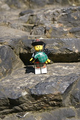 At Edinburgh Castle (legoman_86) Tags: bagpiper legominifigurescotland