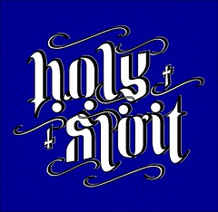 Holy Spirit (sharathkkumar) Tags: god jesus ambigram sharath holyspirit ambigrams ambigramcom