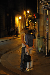 The parting kiss? (jmvnoos in Paris) Tags: street light paris france streets love night lights nikon kiss couple lumire couples kisses lovers explore jeans amour 100views nights 300views 200views handbags lover bluejeans rue handbag nuit rues lumires baiser amoureux parting amants amant 15faves sparation nuits 5faves baisers 10comments 10faves 20faves explored sacmain seeninexplore d700 sacsmain jmvnoos 5favesext