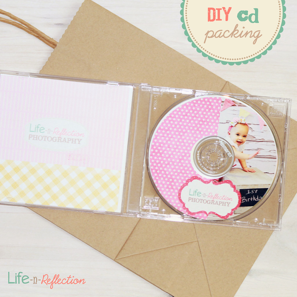 DIY 5x5 CG CD DVD