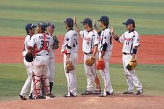 DSC04388 (shi.k) Tags: 横浜スタジアム 東京ヤクルトスワローズ 120608 マウンド イースタンリーグ