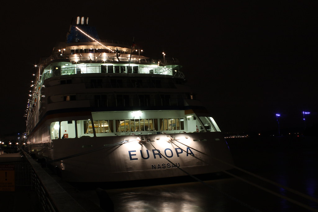 L'Europa s'endort dans la nuit bordelaise - Bordeaux - 10 juin 2012