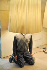 Lamp Shade Hat (AaronBerkovich) Tags: israel nightlights jerusalem oldcity jerusalemstone jaffagate churchoftheholysepulcre jerusalemisrael oldcityofjerusalem