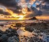 Mysterious Island (mojo2u) Tags: sunrise hawaii maui hana kokibeach hamoa alauisland nikon2470mm nikond700