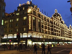Harrods at night (Martin D Stitchener PiccAddo Photography) Tags: uk england london english shop thames night photography lights photo store flickr harrods departmentstore olympic department 2012 twitter martinstitchener dxhawk