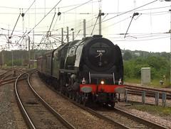 Fylde Coast Express (Ian Chpman) Tags: station warrington bank loco quay steam locomotive sutherland duchess duchessofsutherland 46233