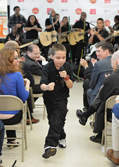 Little Kids Rock & Berklee College of Music Launch Amp Up NYC, a Partnership to Expand Music Education in New York City Public Schools (littlekidsrock) Tags: nyc usa ny newyork up unitedstates amp acoustic musiceducation