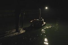 Cormorant Fishing on the Lijiang River (Creative_Accountant) Tags: china shadow water silhouette river fishing lowlight yangshuo cormorant tradition lijiang cormorantfishing lijiangriver