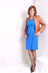 Blue LaDress and Leather Jacket (IMG_7377)