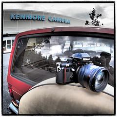 Nikon & Lens Leave Kenmore (NoJuan) Tags: square cameraportrait cameraporn ep5 artfilter fullframefisheye nikonporn kenmorecamera microfourthirds olympusartfilter 9mmbcl