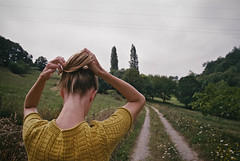 Path of least resistance (Xavier Roeseler) Tags: film nature hair photography 28mm vibes canonae1 grainisgood guapa f28 cantabria filmisnotdead