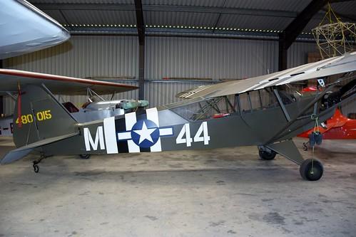G-AKIB - Piper L-4H Cub  Eggesford