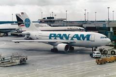 "Pan American World Airways - Pan Am Airbus A310-221 N801PA  ""Clipper Berlin"" (Kambui) Tags: frankfurt airplanes planes panam fra aviones avions flugzeuge  avies a310 aeroplani panamericanworldairways  n801pa clipperberlin"