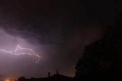 Foudre 21 Mai 2016 - Mimizan (Cdric Darrigrand) Tags: storm mimizan thunder orage landes clair foudre