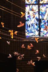 ..beflgelt... Friedenskirche Eilbek (Elbmaedchen) Tags: hamburg vernissage eilbek friedenskirche kunstinstallation claudiareich