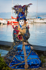Yvoire - #5 (cedric.chiodini) Tags: canon costume flash carnaval masque profoto yvoire canon5dmkiii carnavalyvoire