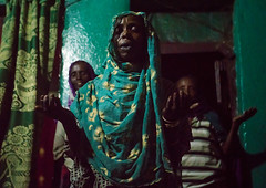 Sufi women go into a trance during a ceremony, Harari region, Harar, Ethiopia (Eric Lafforgue) Tags: world africa travel people color green horizontal night religious outdoors togetherness dance clothing women worship singing dancing african muslim islam religion praying group performance performing ceremony dancer unescoworldheritagesite celebration indoors event spirituality ethiopia sufi sufism adultsonly trance hornofafrica chanting eastafrica harar 3people abyssinia threepeople harari harariregion ethio163064
