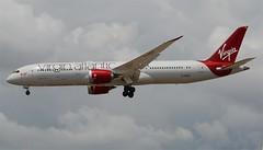 "Virgin Atlantic787-900 Dreamliner ""Queen Bee"" (G-VBZZ) LAX Approach 2 (hsckcwong) Tags: lax virginatlantic 787 dreamliner virginatlanticairways 7879 787900 gvbzz"