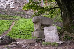 Mount Sleza and ancient cult sculpture (Grzesiek.) Tags: kult rzeba architektura la niedwied staroytno