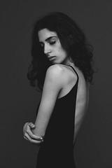 IMG_5656 (RiccardoNosvelli) Tags: portrait blackandwhite bw black monochrome beautiful model bn bnw