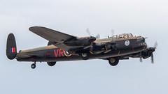 RCAF Avro 683 Lancaster B.10 KB726/C-GVRA 'VR-A' (Hugh Dodson) Tags: saturday ypsilanti rcaf vra willowrun kb726 cgvra avro683 lancasterb10 andrewmynarskivc thunderovermichigan2015