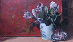 Alma Tadema-Epps - Still life, 1872 (Elisa1880) Tags: life flowers laura netherlands de still alma den nederland stilleven hague theresa haag collectie bloemen willem mesdag hendrik the tademaepps