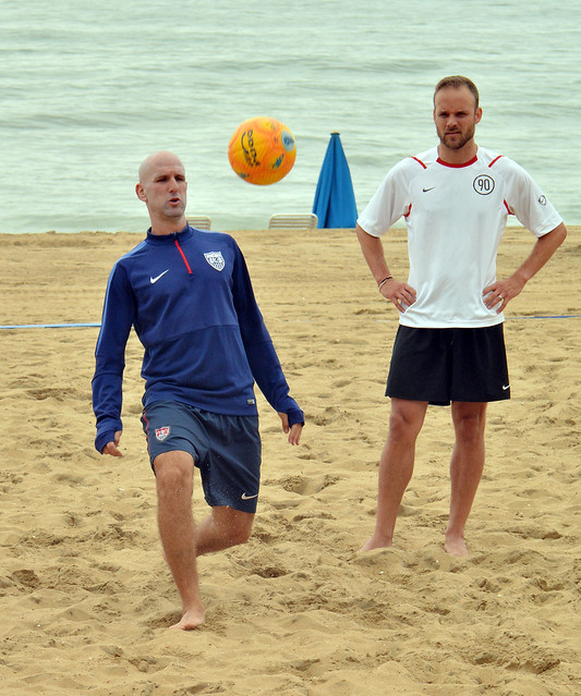 U.S. National Beach Soccer Team Identification Camparelle's FC Barcelona Beach Soccer Camp
