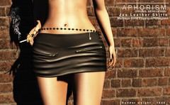 !APHORISM! Jas Leather Skirts (Rucy Byron (!APHORISM!)) Tags: sl secondlife tres chic aphorism