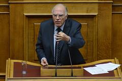 GREECE-ATHENS-POLITICS (X-Andra) Tags: greek bill action euro politics union athens greece parlament crisis attica vassilis grc prior eurogroup legislation hellenic austerity leventis levedis centrrists