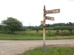 Rusty sign (andreboeni) Tags: cornwall signpost
