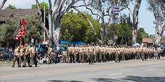 Carson High School Marine Corps JROTC (mark6mauno) Tags: carson high school marine corps jrotc 57thannualtorrancearmedforcesdayparade 57th annual torrance armed forces day parade 2016 nikkor 70200mmf28gvr nikon nikond810 d810