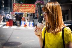softdrink (desmokurt1) Tags: newyork ny usa amerika fuji fujixt1 kurtessler downtown village menschen people human color farbe softdrink coco lexingtonave