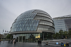 City Hall (handmiles) Tags: city hall government london building architecture people outside outdoor out modern futuristic sony sonya77m2 sonya77mark2 tamron tamron1024mm wideangle mileshandphotography2016