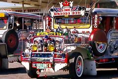 Manila, Sexy Rider Jeepney (gerard eder) Tags: world travel bus asia southeastasia traffic taxi philippines viajes trfico manila southeast publictransport verkehr manilabay jeepney reise