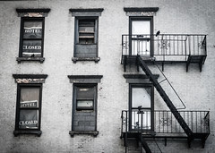 Haunted Hotel (cbastien.bordes) Tags: city nyc newyorkcity newyork hotel closed manhattan