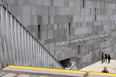 mumok (rainbowcave) Tags: vienna wien building museum steps railing gebude treppen gelnder museummodernerkunst