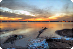 Atardece en las Salinas (Legi.) Tags: sunset reflection atardecer nikon salinas 1855 torrevieja colorphotoaward legi d5100