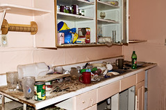 Kitchen (Curtis Gregory Perry) Tags: california old food house abandoned kitchen del glasses