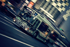 Japan day 1 - Kyoto - bus panning (bh3o81) Tags: japan kyoto giappone