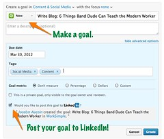 Social Goals by WorkSimple (GetWorkSimple) Tags: performance social advice hcm hr job feedback app linkedin socialenterprise hrtech employeerecognition careermanagement selfbranding performancemanagement managementprocess socialbusiness performancereviews employeeengagement performancemanagementsystem socialtechnology smartgoals jobadvice socialbiz socialhr hrtechnology performancefeedback socialgoals goalmanagementsoftware employeeperformancemanagement 360reviews goalmanagementapp socialperformancemanagement socialperformanceapp workclient communicationclient performancemanagementprocess performanceappraisalprocess performancemanagementprocedure workapp twitterforwork