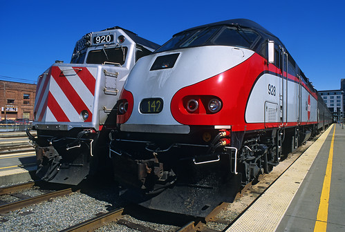 Caltrain shapes